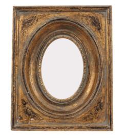 Fotolijst 13x17x3 cm goud