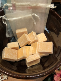 Amber-Lotus blokje  in voile zakje