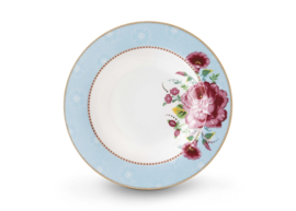 Soup Plate Rose Blue 21,5 cm