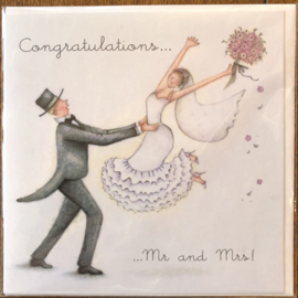 Congratulations ....mr and mrs