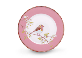 Plate Early Bird Pink 21 cm