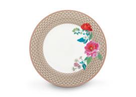 Plate Rose Khaki 26,5 cm