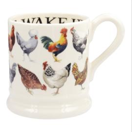 Hens mug  1/2 pint