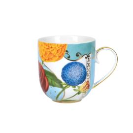 Mug small Royal flowers 260 ml