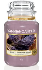Dried Lavender Oak large jar