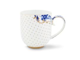 "Mug Royal White ""dots"" 325 ml"