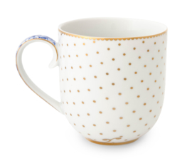 "Mug Royal White ""dots"" 260 ml"