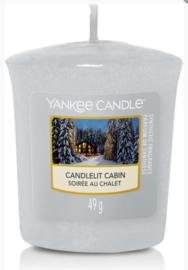 Candlelit Cabin votive