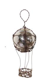 Glazen luchtballon 12cm