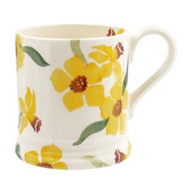 Daffodils mug 1/2 pint