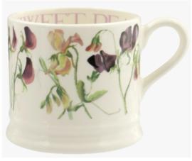 Sweet Pea Purple small mug
