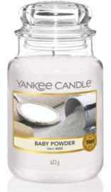 Baby powder large jar