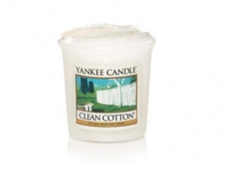 Clean Cotton Votive