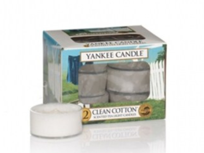 Clean Cotton tea lights