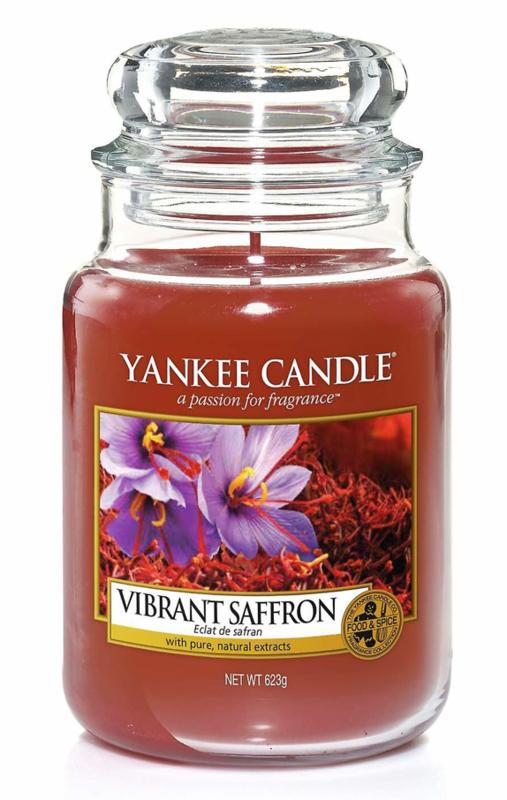 Vibrant Saffron large jar