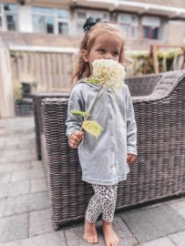 Vestje met cappuchon | Little miss/mister (naam)