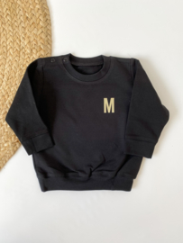 Sweater   Grote letter