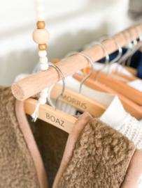 Houten hanger | Naam