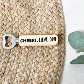 FLESSENOPENER   Cheers, lieve opa