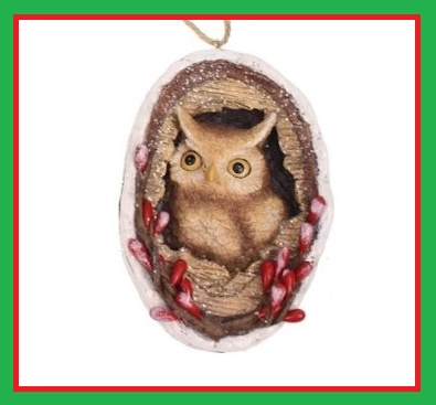 Xmas Forest Animal Owl