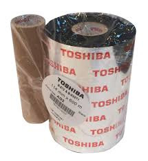 Toshiba-Tec codeerfolie AW7F ( wax ) 60 x 600M