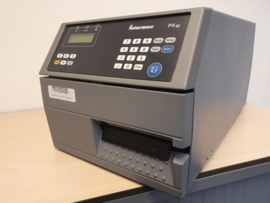 Intermec PX4i printer incl. peel-off 203 dpi gebruikt