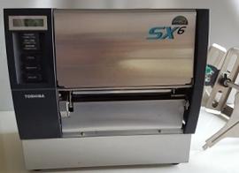 Toshiba-Tec B-SX6T gebruikte labelprinter basic  300dpi