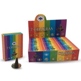 7 Chakra cones 15 gr