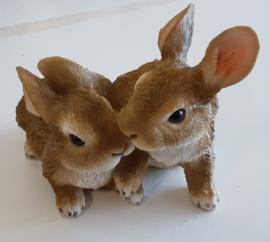 Leonardo setje van 2 konijntjes