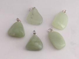 Groene jade hanger