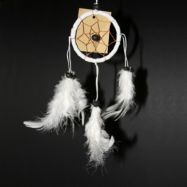 Dream Catcher wit Ø 6cm