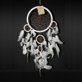 Dream Catcher wit Ø 16cm