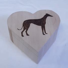 houten doosje hart