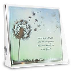 Quote - Memories - Silver Silhouette