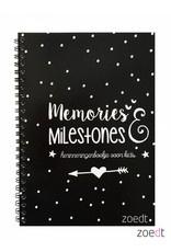 Memories & Milestones - invulboekje