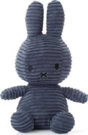 Nijntje Corduroy  Donkerblauw 23 cm
