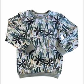 Sweater | Jungle | White | MissDraad
