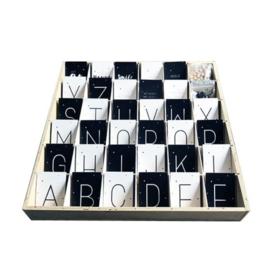 Zelf letterslinger samenstellen