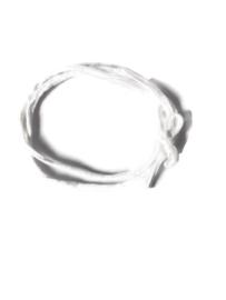 Haarstrikbandje Pearl white
