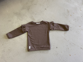 Sweater | Ruffle Sand | MissDraad
