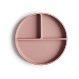 Siliconen bord | Blush | Mushie