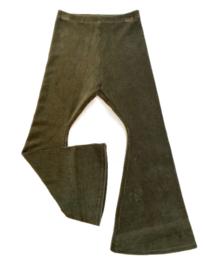 Zoofs | Flared pants | Rib Olive