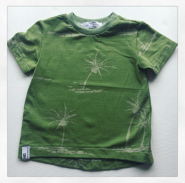 T-Shirt Palm Tree Groen
