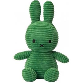 Nijntje Corduroy Groen 23 cm