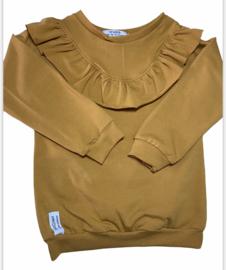 Sweater | Ruffle | Mustard | MissDraad
