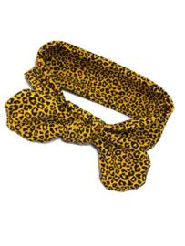 Haarband Panter Geel