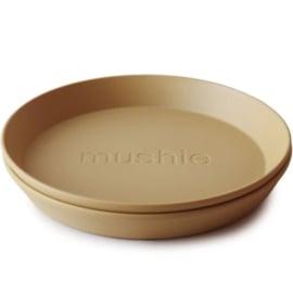 Mushie set van bekers Mustard