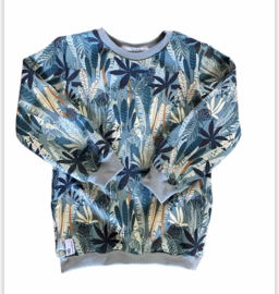 Sweater | Jungle | Dusty green | MissDraad