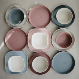 Mushie set van bekers Blush