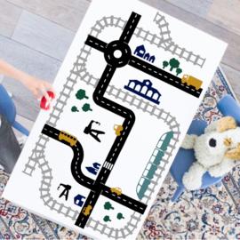 Sticky Rails & Roads Kleur | Stickers | XL Voordeelset | Studio Jong